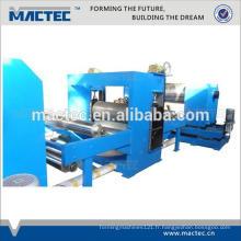 Machine de gaufrage de tuyau d'acier inoxydable de bobine d'acier