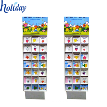 Floor Standing Comic Book Display Rack,Custom Cardboard Book Display Stands For Sale