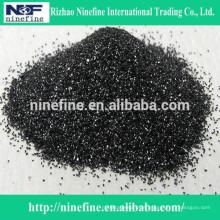 niedriger s schwarzer Siliziumkarbid-Pulverpreis mit festem Kohlenstoff 96%