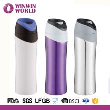 Type à double paroi 550ML en acier inoxydable de flacon thermos fabriqué en Chine