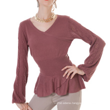fashion colourful women cashmere pullover