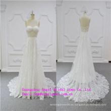 Vestido de novia sexy sirena