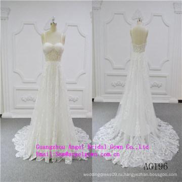 Сексуальная Русалка Свадебное Платье