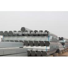 Tianjin fábrica de alta calidad de tubería de acero galvanizado rígido