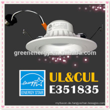 ul Energie Stern 4inch führte Downlight 9w dimmbare e26 Unterseite 800lm hinunter Licht UL