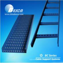 Bandeja de cable con clasificación de incendio y bandeja de cable / bandejas de cable FRP