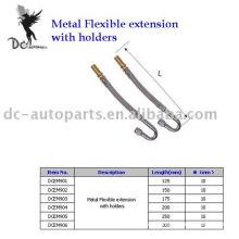 Extensión flexible de metal