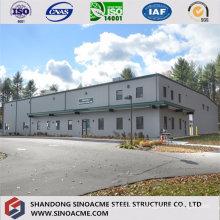 Prefabricated Steel Structure Workshop with Second Floor