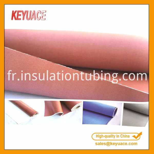Silicon Rubber Coated Fiberglass Cloth