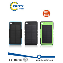 Portable 6000mAh USB Power Bank Mini Solar Charger