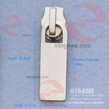 Nickel Zipper Puller / Slider (G10-232S)