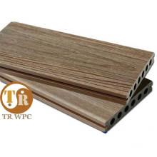Fornecimento Anti-UV WPC Shielded Decking
