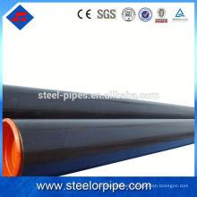 La mejor calidad sch80 GB tubo de acero sin costura estándar / tubo de acero