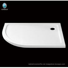 Duschwanne im Baddesign, Acrylglas mit Duschwanne aus Fiberglas