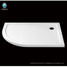 bathroom design shower tray , acrylic with fiberglass shower base
