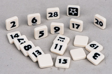 Educational Plastic Digit Dice For Child
