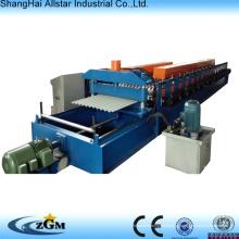 Mais populares da folha da telhadura de aço ondulado Perfiladeira fabricados na China