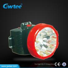 Super puissance 3W led lampe rechargeable