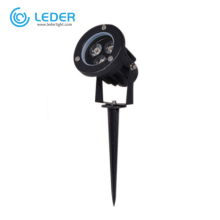 LEDER Dimmable Aluminum Black 3W CREE LED Spike Light