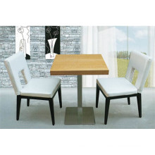 Uphostered Solid Wood Chair Table Set for Retaurant (FOH-BCA32)