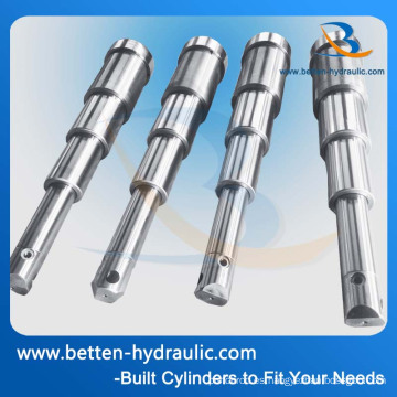 Cilindro hidráulico telescópico de doble efecto para camión basculante
