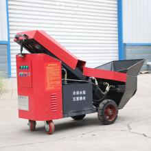 Pompe de coulée de béton hydraulique haute performance pour montage sur remorque FMP-34