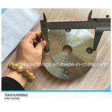 Bride à plaque en acier inoxydable 316L DIN 2543 Pn16