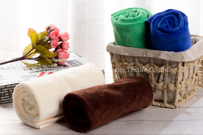 Weft Knitting Microfiber Towel-007