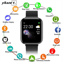 I5 Heart Rate Blood Pressure Monitor Bluetooth Smartwatch