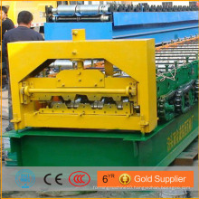 Alibaba Low Energy Consumption Metal Floor Plate Roll Decking Sheet Forming Machine