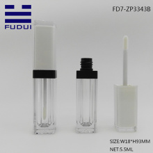 Customize square lipgloss container with acrylic material