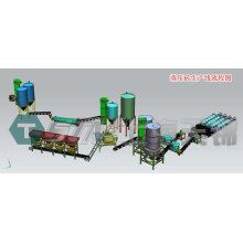 Autoclaved lime-sand brick production line