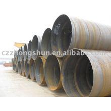 Tubo de acero espiral