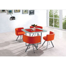 Hot Sale Cheap Dining Table and Chair, Dining Set