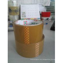 Embalaje cinta Tan de la industria del embalaje 48X100X45mic