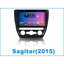 Android System Car GPS para Sagitar com Car DVD Player Tracker