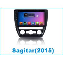 Автомобильный GPS-навигатор для Sagitar с автомобильным DVD-плеером Tracker