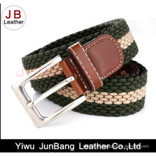 Señoras Pin Buckle Polyester Elastic Braid Belts
