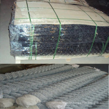China good galvanized chain link fence (diamond wire mesh )