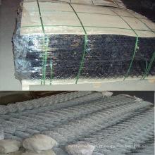 China boa vedação de ligação de corrente galvanizada (malha de arame de diamante)