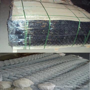 China good galvanized chain link fence (diamond wire mesh )