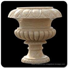 Maceta de piedra del granito del jardín de la olla del anhelo para ajardinar