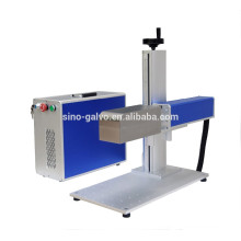 Dynamic 3D fiber laser marking machine on curved surface
