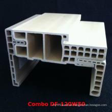 Fuerte y duradero WPC puerta marco WPC bolsillo estilo E estilo Df-120W50