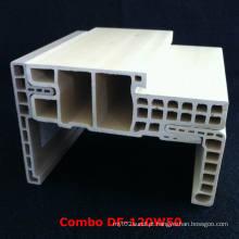 Estilo forte e durável Df-120W50 do bolso E da porta do quadro de porta WPC de WPC