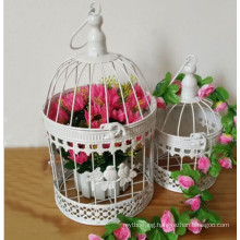 Metal Bird Cages Garden Decoration with Iron Crafts