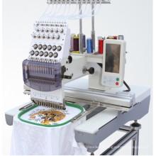 Máquina de bordar única cabeça (cap / máquina de bordar tubular)