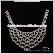 wedding favor crystal applique wholesale rhinestone applique