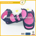 best selling polka dots soft sole pre-walker with flower girl baby sanda