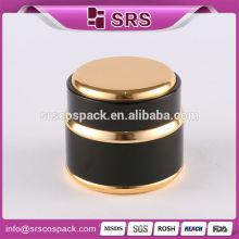 Srs Chine nouveau produit récipients cosmétiques en aluminium, pot de crème en aluminium à vide en métal, jarret en aluminium cosmétique pour cosmétiques